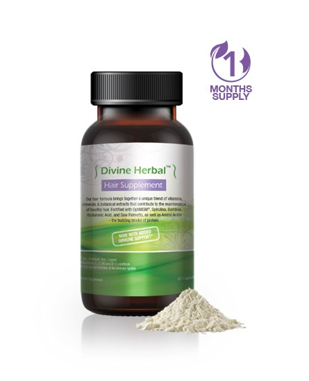 Divine Herbal™ Hair Supplement - Step 1