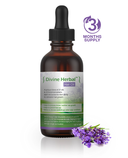 Divine Herbal™ Hair Oil - Step 2